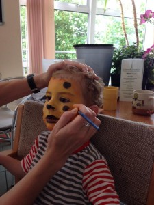 Parent & Pre-school group face painting